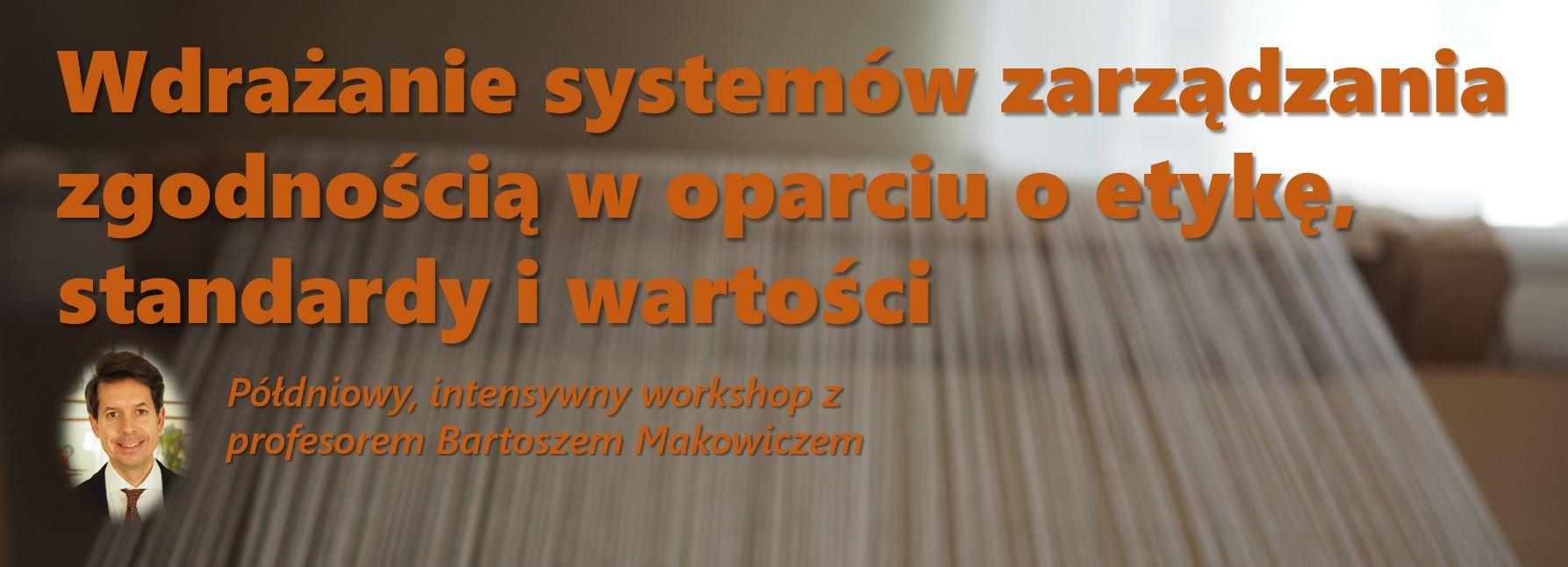 Etyka, standardy i compliance?!